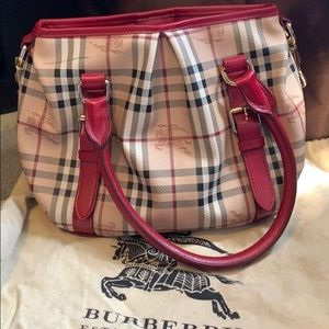Burberry Haymarket Colours Small Northfield Tote